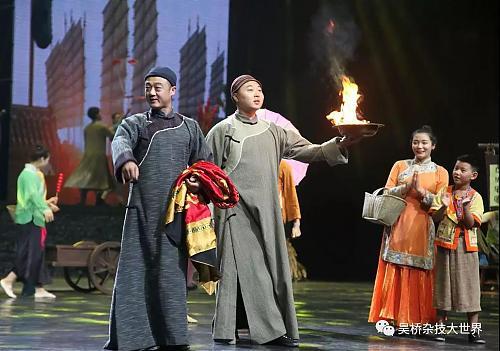 国庆节,看吴桥杂技大世界景区新模样!